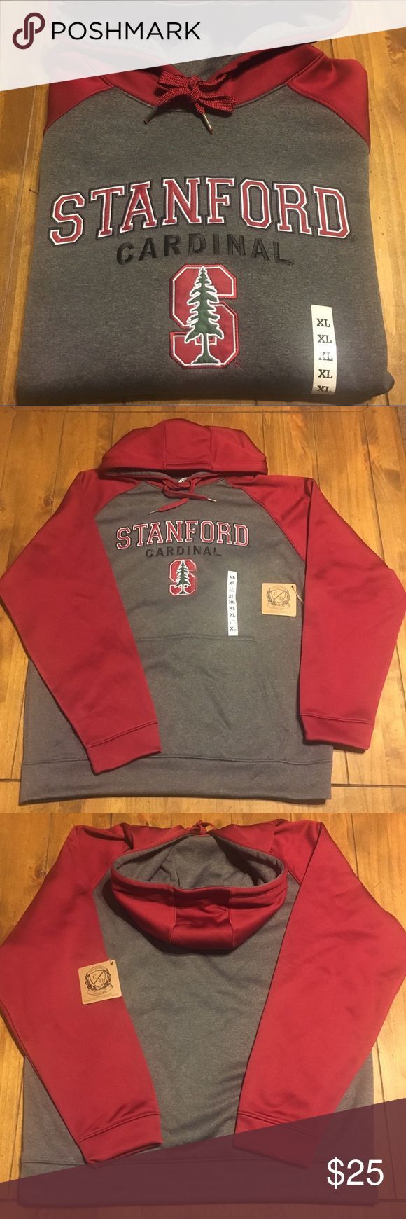 STANFORD UNIVERSITY HOODIE • UNISEX size XL NWT STANFORD UNIVERSITY HOODIE • UNISEX size XL • NWT NO TRADES PRICE FIRM❗️ Campus Drive Sweaters