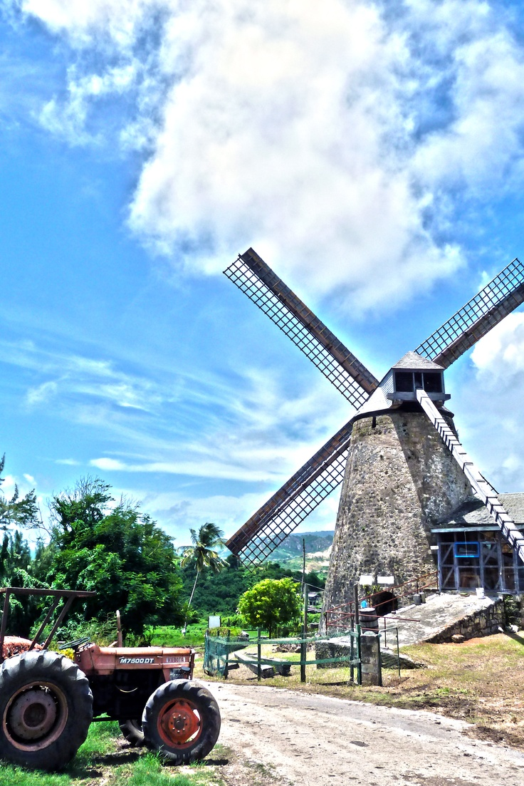 Morgan Lewis Windmill in St Andrews Barbados