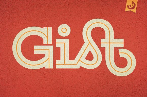 Gist Font Family by Yellow Design Studio on @creativemarket