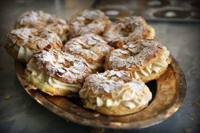 Lucy's Kitchen Notebook Paris-Brest pastries.