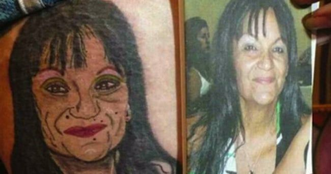 The Absolute Worst Portrait Tattoos Of All Time Bad Tattoos
