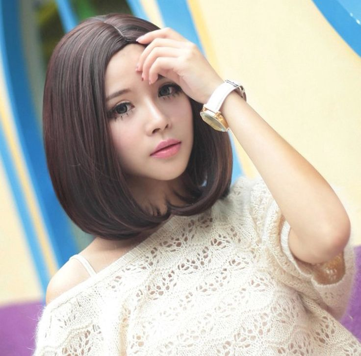 OYM 2014 New Arrival Charming Pretty U Part Medium Straight Synthetic Hair Wig Free Wig Cap-in Synthetic Wigs from Health & Beauty on Aliexpress.com | Alibaba Group