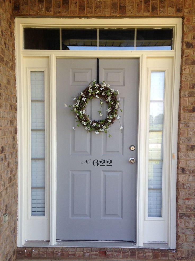 78 ideas about farmhouse front doors on pinterest. Black Bedroom Furniture Sets. Home Design Ideas