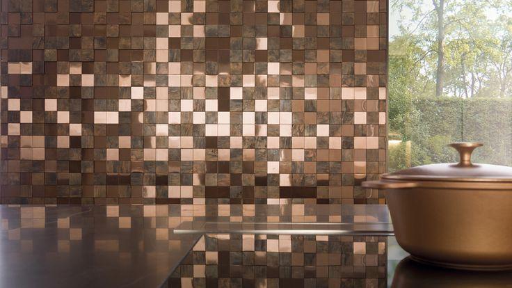 Noi mozaicuri din lemn si metal de la L'Antic Colonial