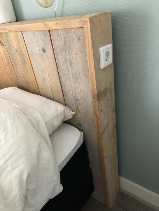 hoofdbord bed steiger hout slaapkamer bedden marktplaatsnl vooral het