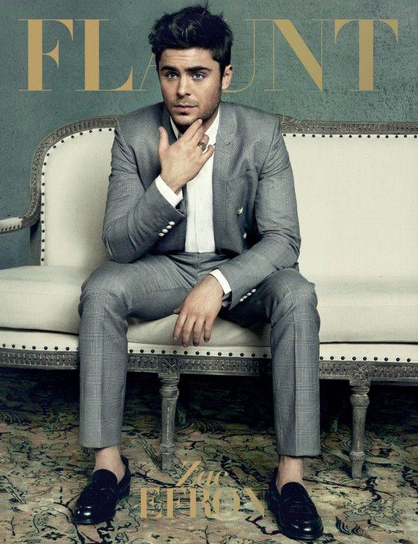 Zac Efron Covers FLAUNT Magazine April 2013