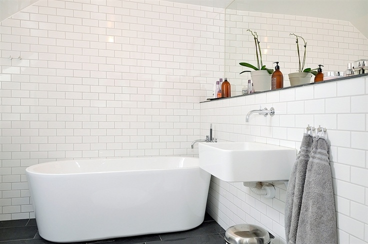 same tiles in bathroom and kitchen?