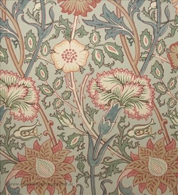 Pink & Rose William Morris tapet Archive Wallpapers II, 750:-