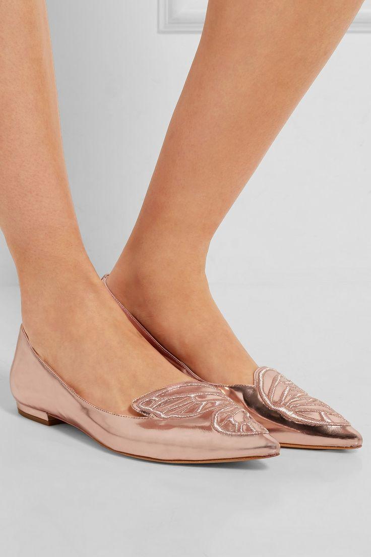 pointed toe slippers - Metallic Sophia Webster 0VNRF