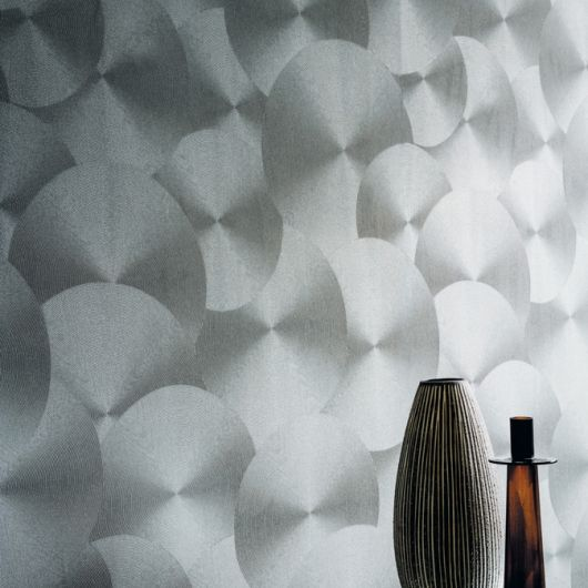 Cristal Casamance Wallpaper (source Casamance) Fabric Wallpaper Australia / The Ivory Tower