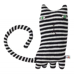 {Mono Cat} loves mint humbugs. by Donna Wilson: Cats, Monocat, Wilson Mono, Black White, Baby, Mono Cat, Products, Donna Wilson, Softies