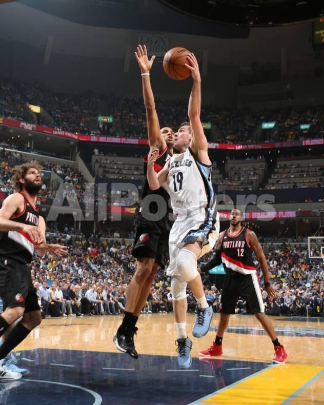 Portland Trail Blazers v Memphis Grizzlies - Game One by Joe Murphy Sports  Photo - 20 x 25 cm 80d897129