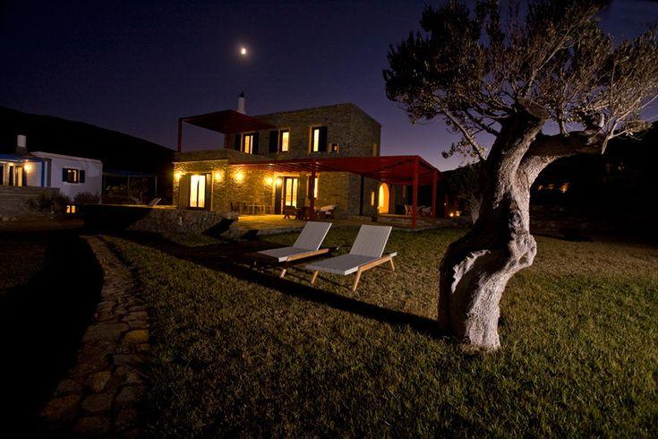 Aeagea Blue Cycladic Resort-Grand Blue Villa From Outside
