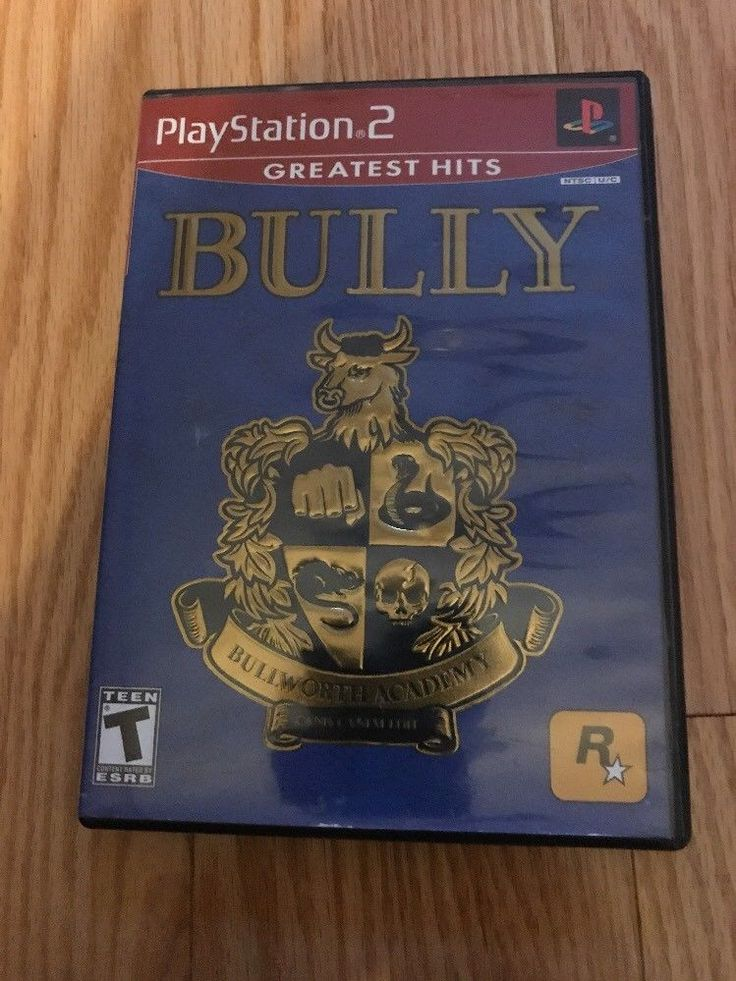 Bully (Sony PlayStation 2, 2006) 710425278075   eBay