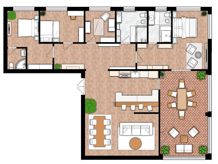 House Floor Plan Create A Floor Plan And Interior Design