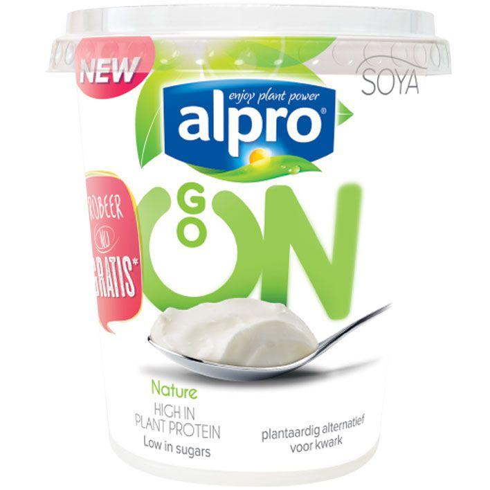 Alpro 'kwark' Go on #vegan