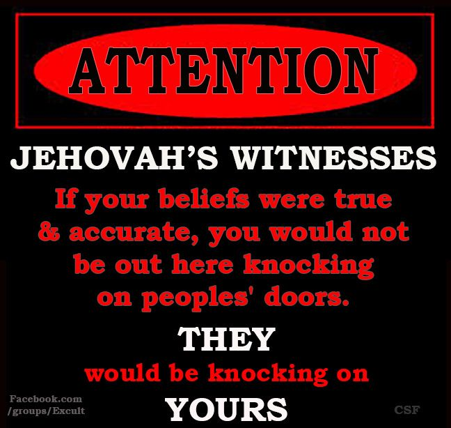Sign ….The Meme Group for Ex-Jehovah's Witnesses…