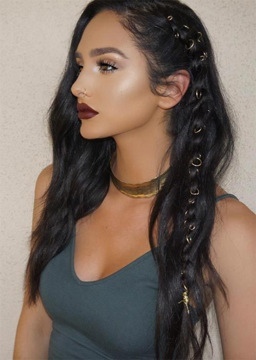 how to hair braid styles 25 best ideas about boho hairstyles on boho 4754