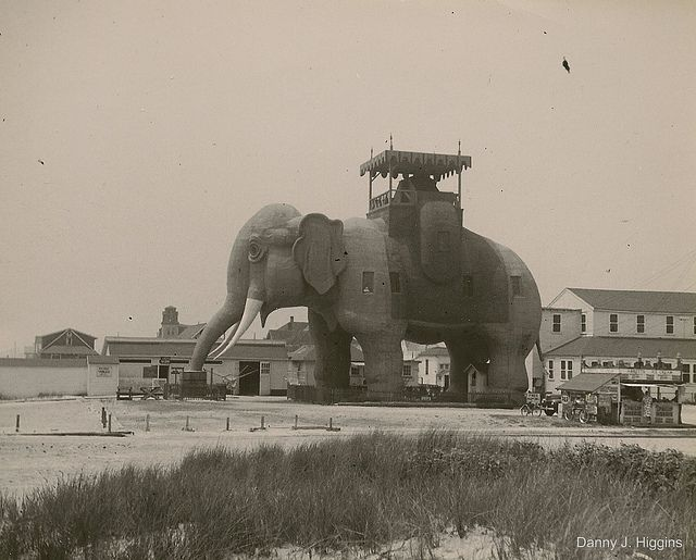Lucy The Elephant Margate Nj National Historic Landmark