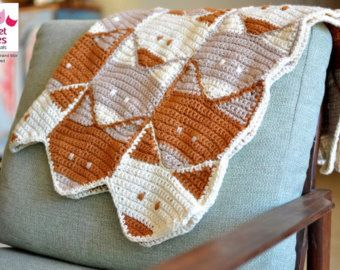 Fox Baby Crochet Afghan Patterns And Baby Blanket