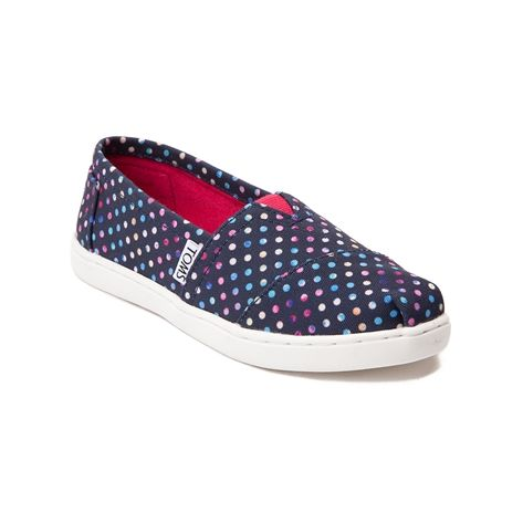Save a spot for the new Classic Multi Dots Casual Shoe from TOMS! This  adorable