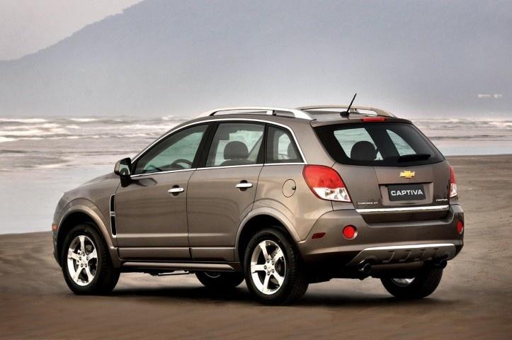 Chevrolet Captiva    http://7-passengervehicles.net