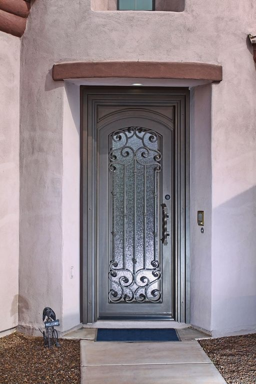 17 Best Images About Wrought Iron Door Gates On Pinterest