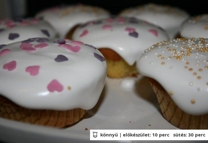 Hercegnő vagy tündér muffin | NOSALTY – receptek képekkel