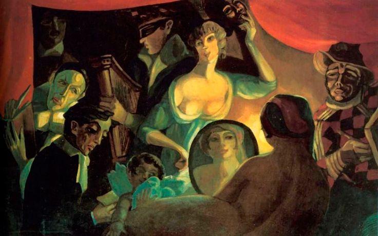 С.Судейкин Кабаре «Привал комедиантов» («Моя жизнь»). 1916