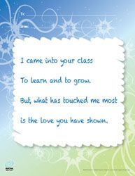 Free teacher thank you cards printables