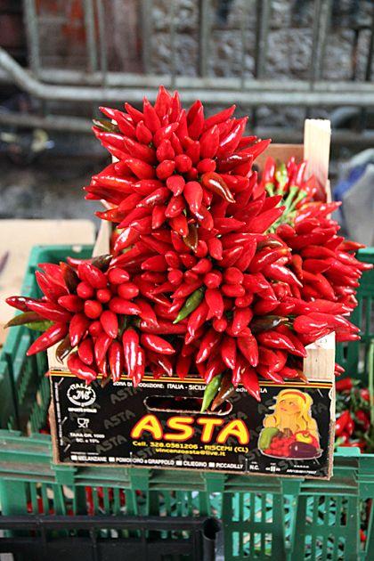 Red Chili @ Vucciria Market - Palermo, Italy