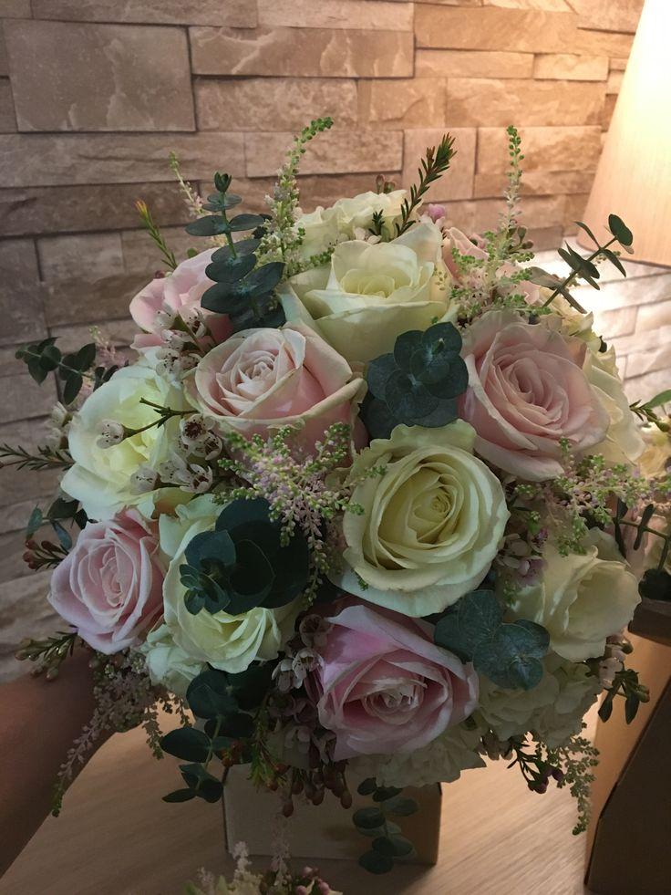 Handtied wedding bouquet