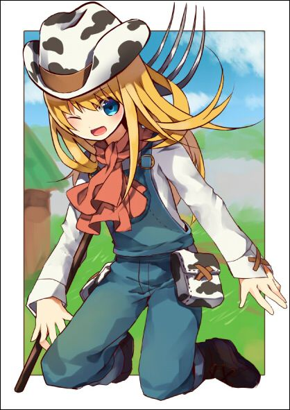 Harvest Moon A New Beginning heroine.