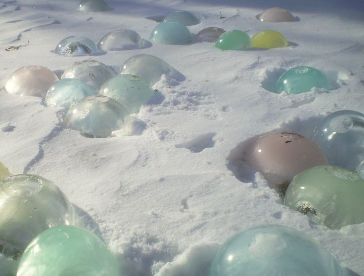 This is the most hilarious and realistic report about frozen water balloons.