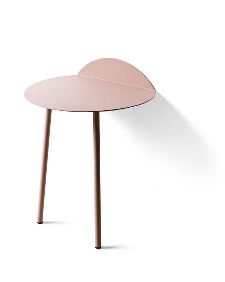 Yeh Wall Table Low in Nude by Menu
