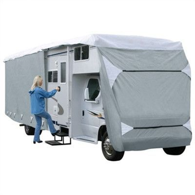 Classic Accessories Overdrive PolyPro 3 RV Cover Size: 23' - 26'
