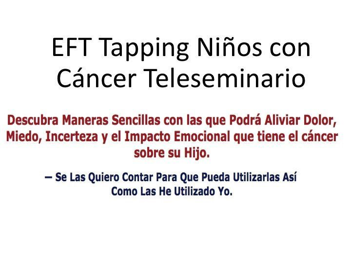 Ninos con Cancer Teleseminar Audios