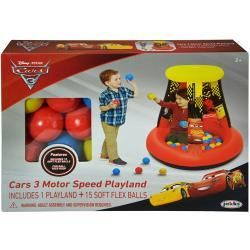 Disney Cars 3 Ball Pit with 15 balls