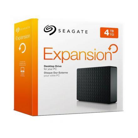 HD EXTERNO SEAGATE EXPANSION 4TB USB 3.0 STEB4000100 PRETO