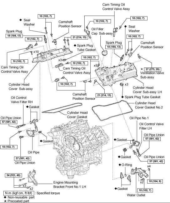 2006 toyota avalon engine diagram 2007 toyota avalon engine diagram #5