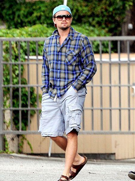 Leo Di Caprio in Normcore Style