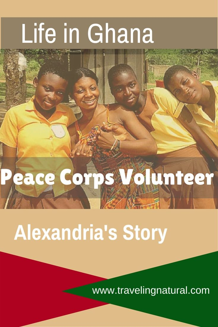 Check out what life is like in Ghana from Alexandria, a Peace Corps Volunteer