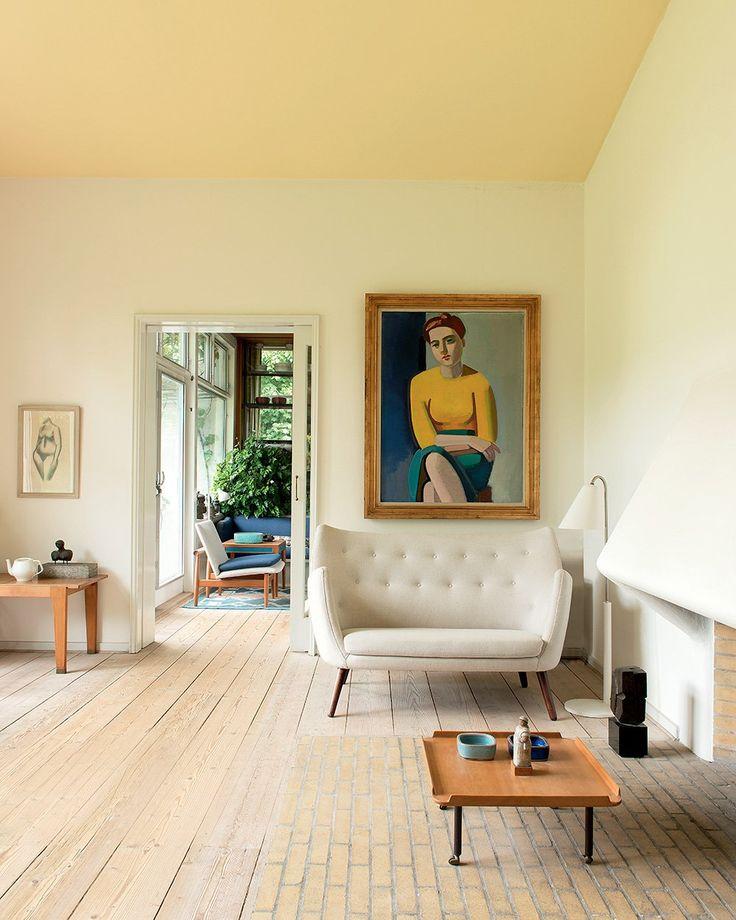 les 25 meilleures id es de la cat gorie murs jaunes sur pinterest murs de la cuisine jaune. Black Bedroom Furniture Sets. Home Design Ideas