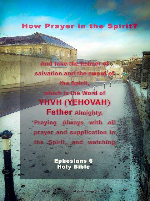 Holy Spirit: Praying in the Spirit!