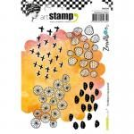 Carabelle Studio Art Stamp Set - Scribbles In My Journal [SA60298]