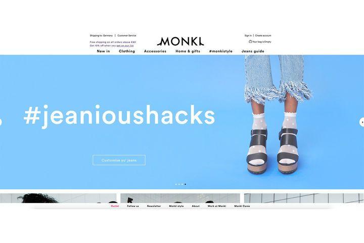 Monki.com ist perfekt für alle, die nicht in Berlin, Hamburg, Köln, Leipzig oder Essen wohnen (den bislang einzigen Orten in Deutschland mit Monki-Stores). Unsere erste Anlaufstelle für lustige Socken und coole Shirts!