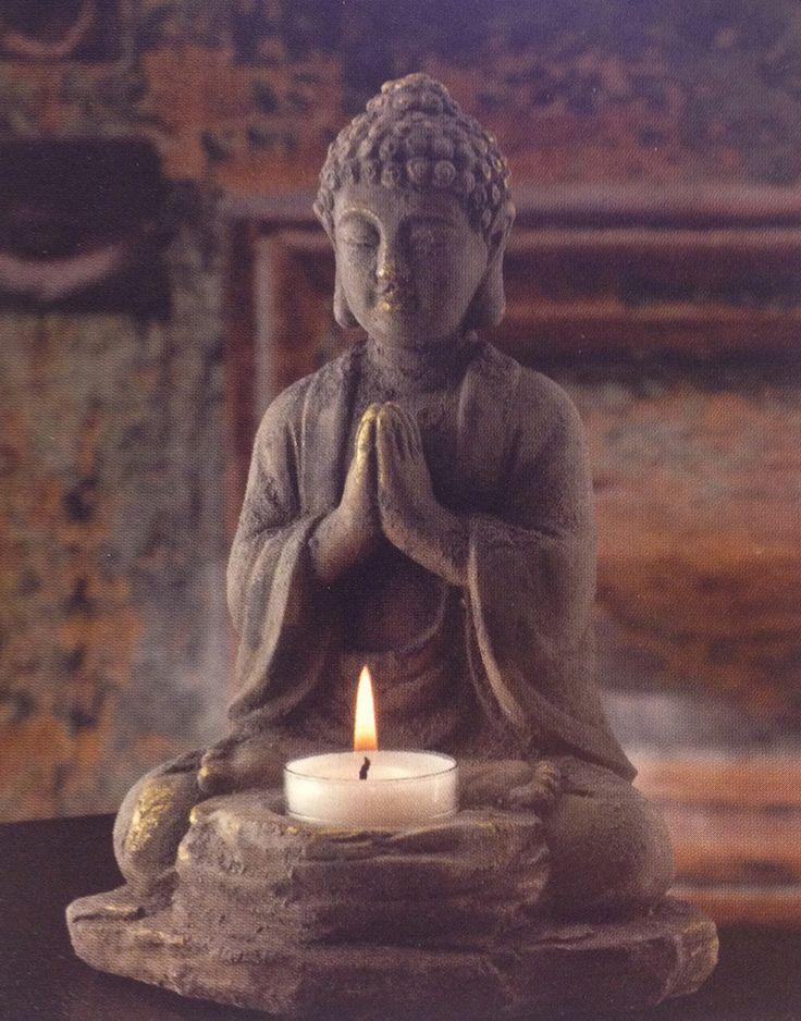Buddha Tealight Holder | Buddha Candle Holder | Buddha Home Decor