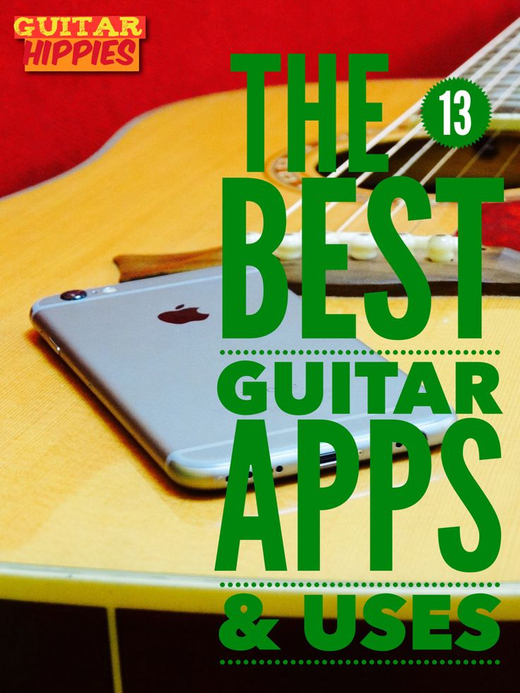 The 13 Best Guitar Apps That You Will ACTUALLY USE #music #guitar #iphone #galaxy #apps GuitarHippies - Your Musical Journeys Top Inspiration Point.