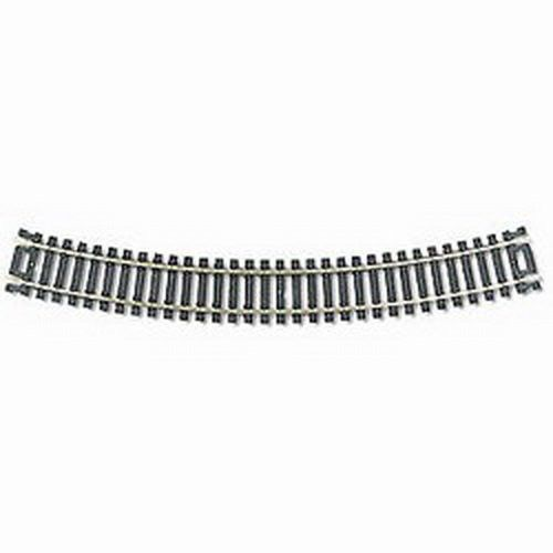Code 100 Nickel Silver 18 Radius Snap Track (100) HO Scale Atlas Trains