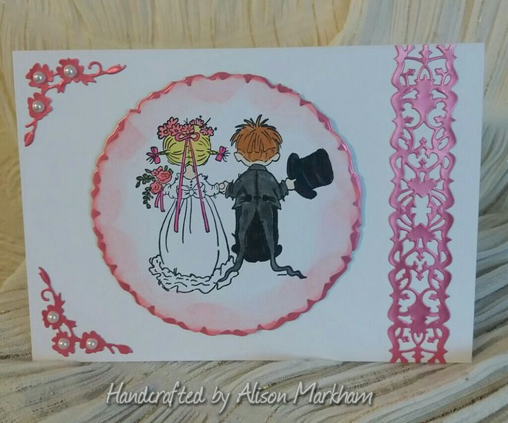 Lilly of the Valley wedding stamp